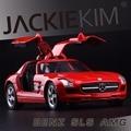 Высокая Моделирования Изысканные Детские Игрушки Новые и Оригинальные Mercedes-BENZ SLS AMG Модель 1:36 Сплава Спортивный Автомобиль Модели Отличные Подарки