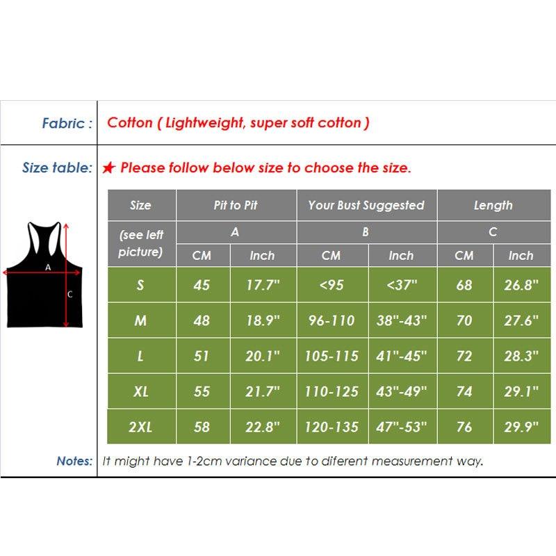2018 Binaraga Pakaian Merek Cotton Workout untuk Pria Tank Top pria - Pakaian Pria - Foto 2