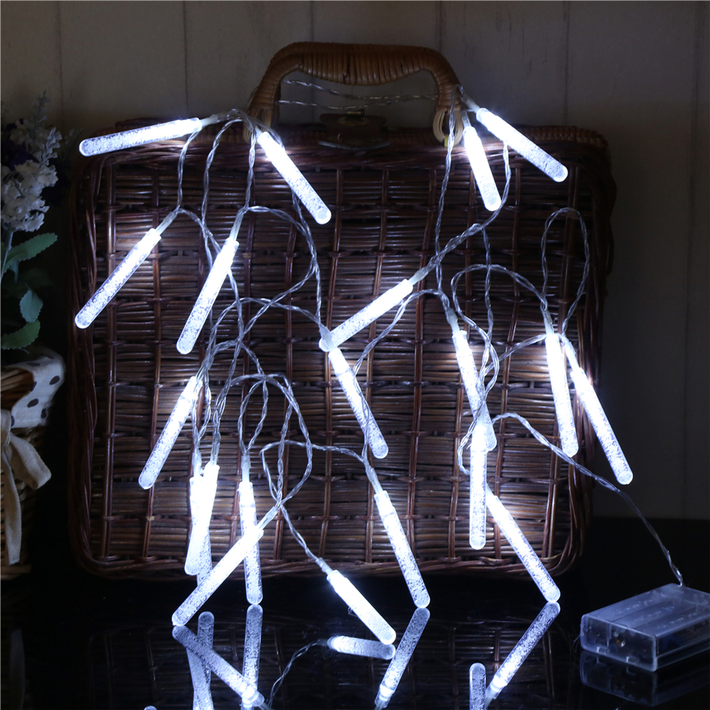 Fairy LightsBubble Stick String Light 1.5M-6M,10L/20L/40L,3AA Room Weding Party Wall Window Home Decoration Children Night Lamp
