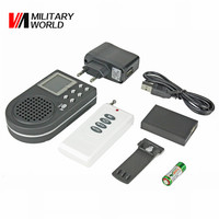 Remote Control Electronics Hunting Decoy MP3 Digital LCD Bird Caller Sound Player CP 360B Large Capacity