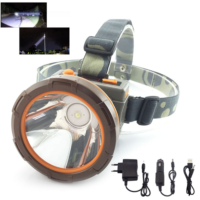 High Power 65W Led Headlight Portable Headlamp Frontale Head Torch Lamp Light Rechargeable Battery Charger For Fishing Camping