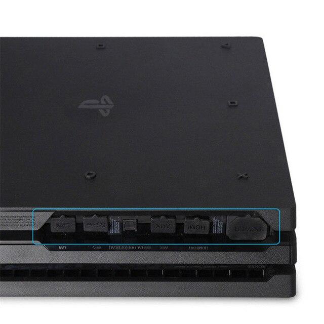 طقم واقي من الغبار PS4 Pro من DIY غطاء حماية من الغبار غطاء شبكة جاك سدادة حزمة الغبار لسوني بلاي ستيشن 4 برو PS4 برو وحدة التحكم