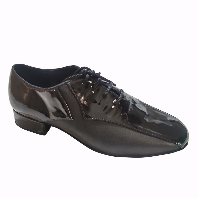 Professional comfortable Mens ballroom dance shoes salsa shoes tango shoes in cow leather 8807