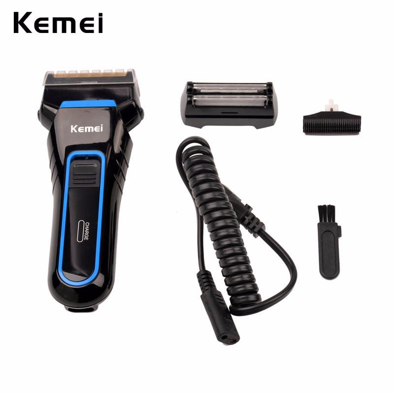 Hot Selling Electric Razor Rechargeable Beard Trimmer Ergonomics Design Shaving Machine Professional Male Electric Shaver