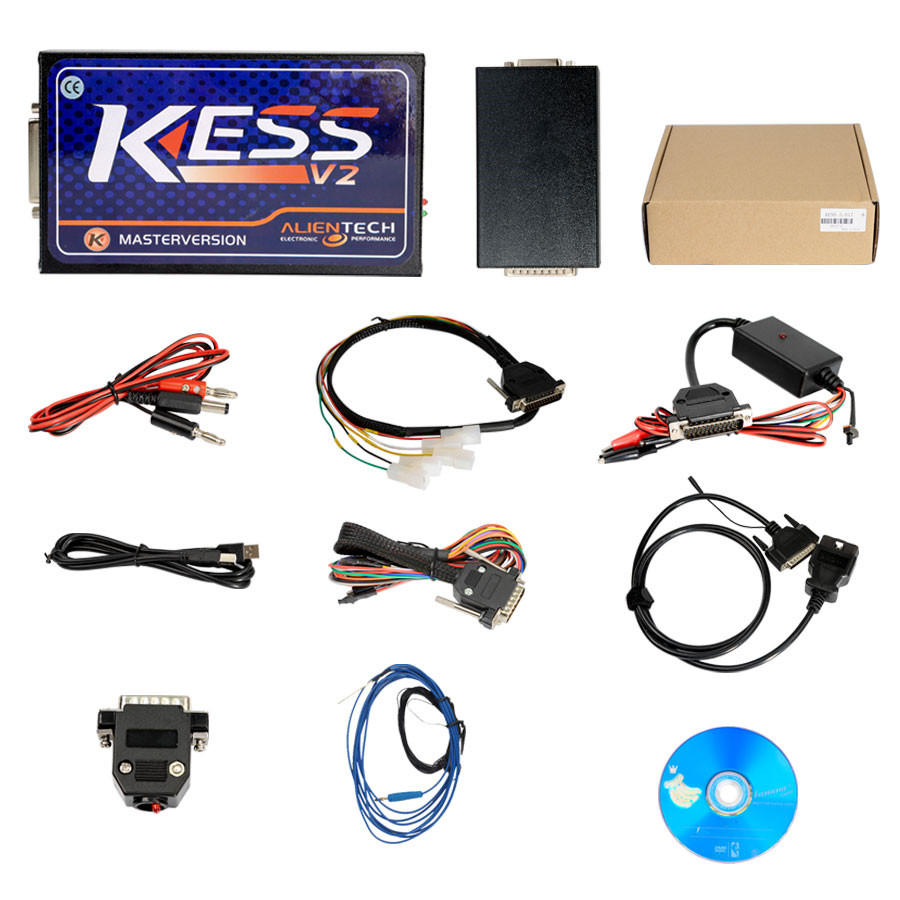 Newest Kess V2 V5.017 Online Version V2.23 Kess V2 OBD2 Manager Tuning Kit Kess 5.017 Auto ECU Progrogramming Tool цены