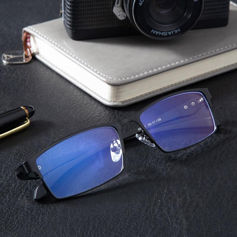 Titanium Computer Glasses Anti Blue Light Blocking
