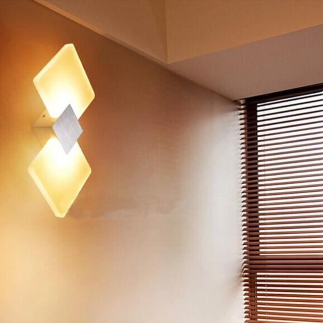 Led bagno di luce specchio camera da letto led riparo della parete ...