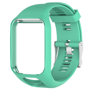 Image 4 - TPE Watchband Strap for TOMTOM Runner 2 3 Spark / 3 Glfer 2 Adventurer GPS Watch 11 Colors Replacement Watchbands