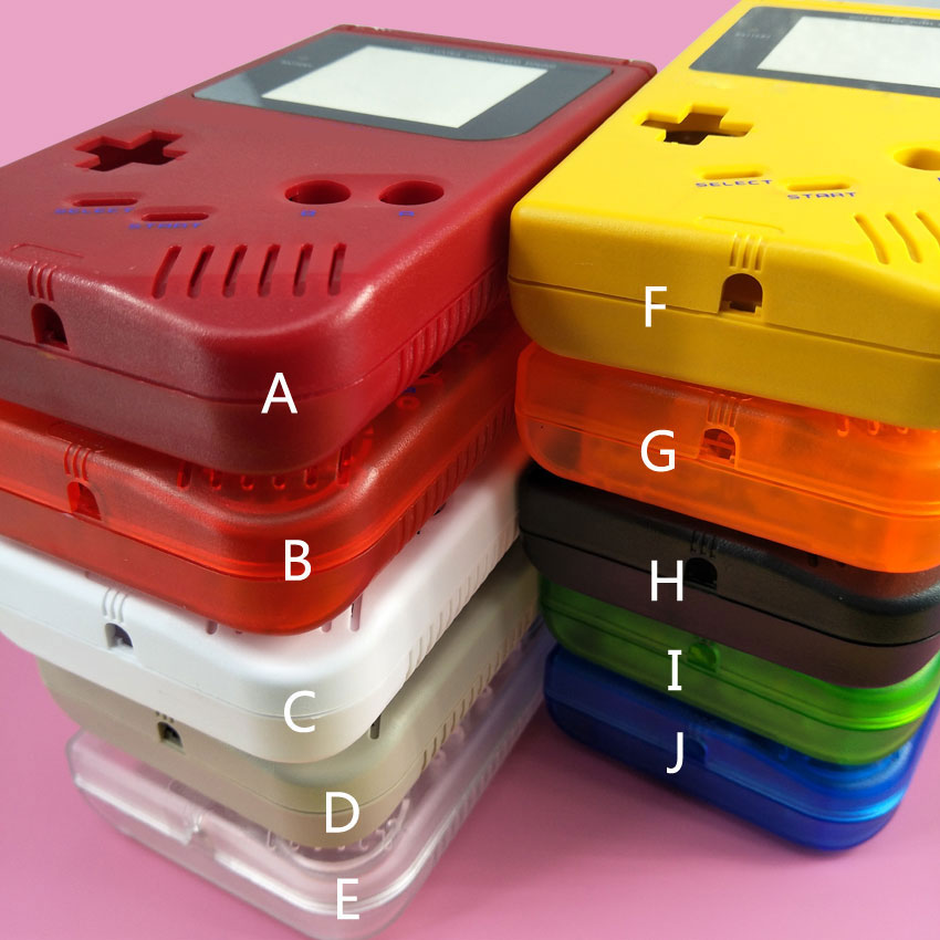 10 colors, Full Shell Housing Replacement Repair Pack Case Cover For GameBoy GB Classic DMG