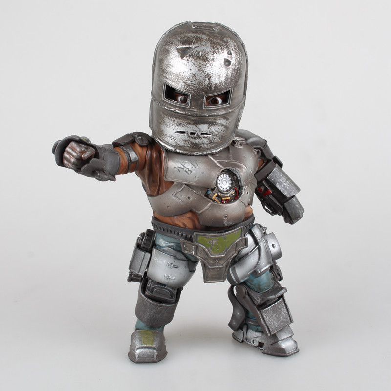 Huong Movie Figure 20 CM Iron Man 3 Mark 1 Egg Attack PVC Action Figure with LED Light Collectible Model Toy Brinquedos new hot christmas gift 21inch 52cm bearbrick be rbrick fashion toy pvc action figure collectible model toy decoration