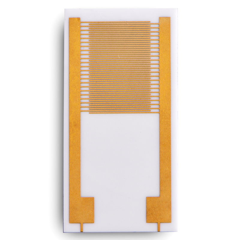 interdigital electrode Interdigital Etched electrode array Magnetron sputtering coating Custom Lithographic ceramic circuit