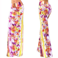 Women Summer Flower Long Maxi Skirt Bohemian 2016 Faldas Vintage Sexy Pencil Skirts Jupe Longue Elegant Clothes