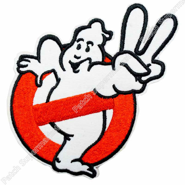 4 ghostbusters team movie tv kids embroidered logo iron on patch rh aliexpress com Metal and Punk Band Logos 70s Rock Bands Logos