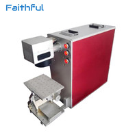 20W Portable Fiber Laser Jewelry Engraving Machine For Ring Inside Marking