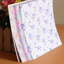 Beautiful 70pcs/lot Cheap Floral Pattern DIY Kids Origami Paper Scrapbooking Decoration Background 14.5x14.5 12Patterns Mixed(China)