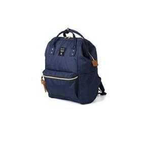 Image 3 - Yeni moda anello yüzük okul sırt çantası 15.6 inç tuval laptop yüzük paketi japonya marka genç erkekler ve kadınlar sırt çantası
