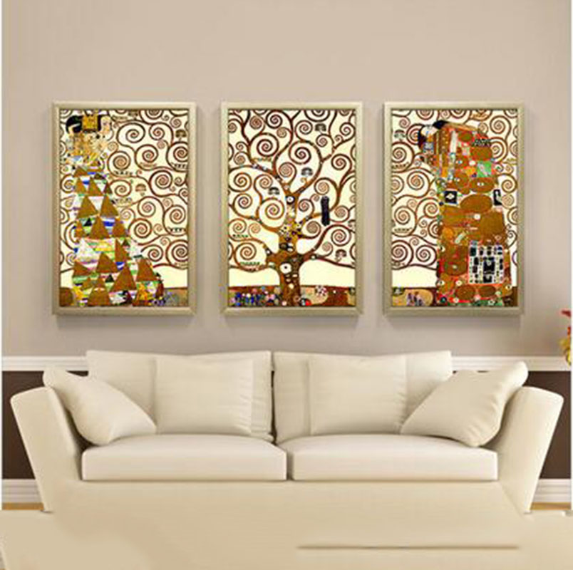 Comprar 3 unidades 2015 vintage abstracta for Decoracion para pared vintage