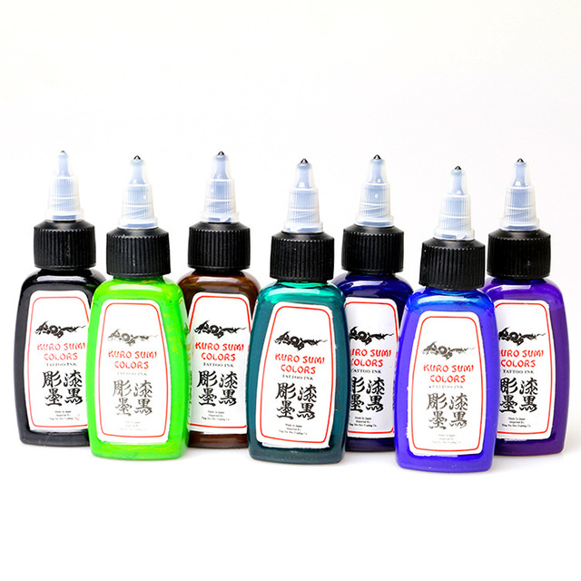 Wholesale tattoo supplies American brand permanent ink cosmetic ...