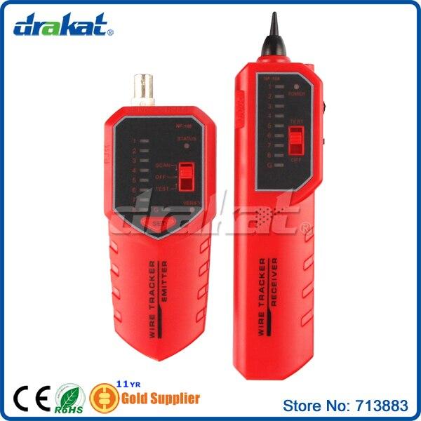 Localisateur de défaut de câble sensible 8P4C 8P8C UTP/STP RJ45 BNC nouveau produit! NF-168