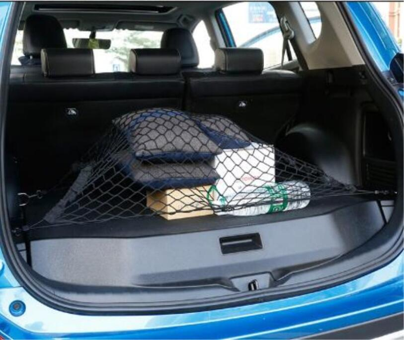 Image 3 - Car Auto Trunk Mesh Organizer 110x60cm Luggage Stuff Cargo Goods Fix Storage Holder Net Universal Accessories-in Stowing Tidying from Automobiles & Motorcycles