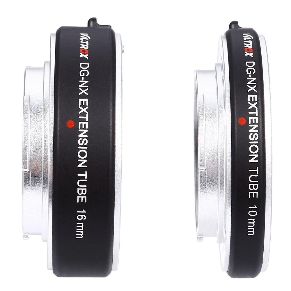 Viltrox DG-NX 10 MM 16 MM AF Auto Focus Micro Extension Tube lentille adaptateur anneau pour Samsung NX 500/2000/1000/330 caméra sans miroir - 5