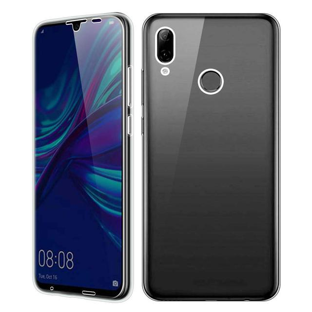 360 Double Silicon Case For Huawei P30 P20 Pro P10 P9 P8 Lite 2017 P Smart