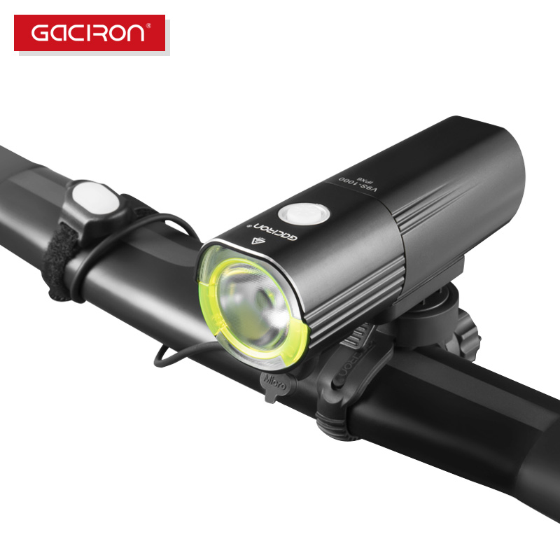 Gaciron V9S 1000 Bicycle Headlight Bike LED Lamp Front Light 1000 Lumens Flashlight LED light Power
