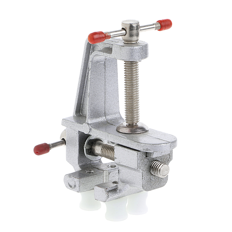 YOFE Mini Vise Tool Aluminum Small Jewelers Hobby Clamp On Table Bench Vice New