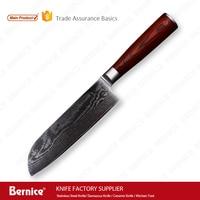 santoku knife damascus steel knife 6.5inch damascus 67layers vg10 japan knife for sushi