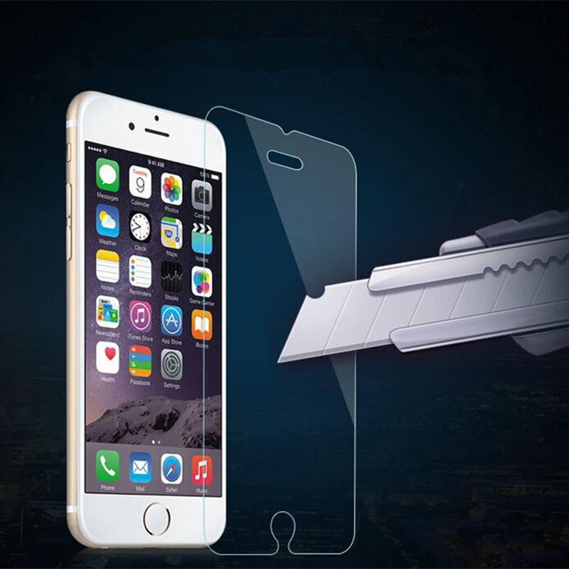 0.2mm Premium Explosion-Proof Tempered Glass Screen Protector Film for iPhone 7 7 Plus 6 6G 6S 7 Plus 3GS 4 4S 4G 5 5S 5G Film
