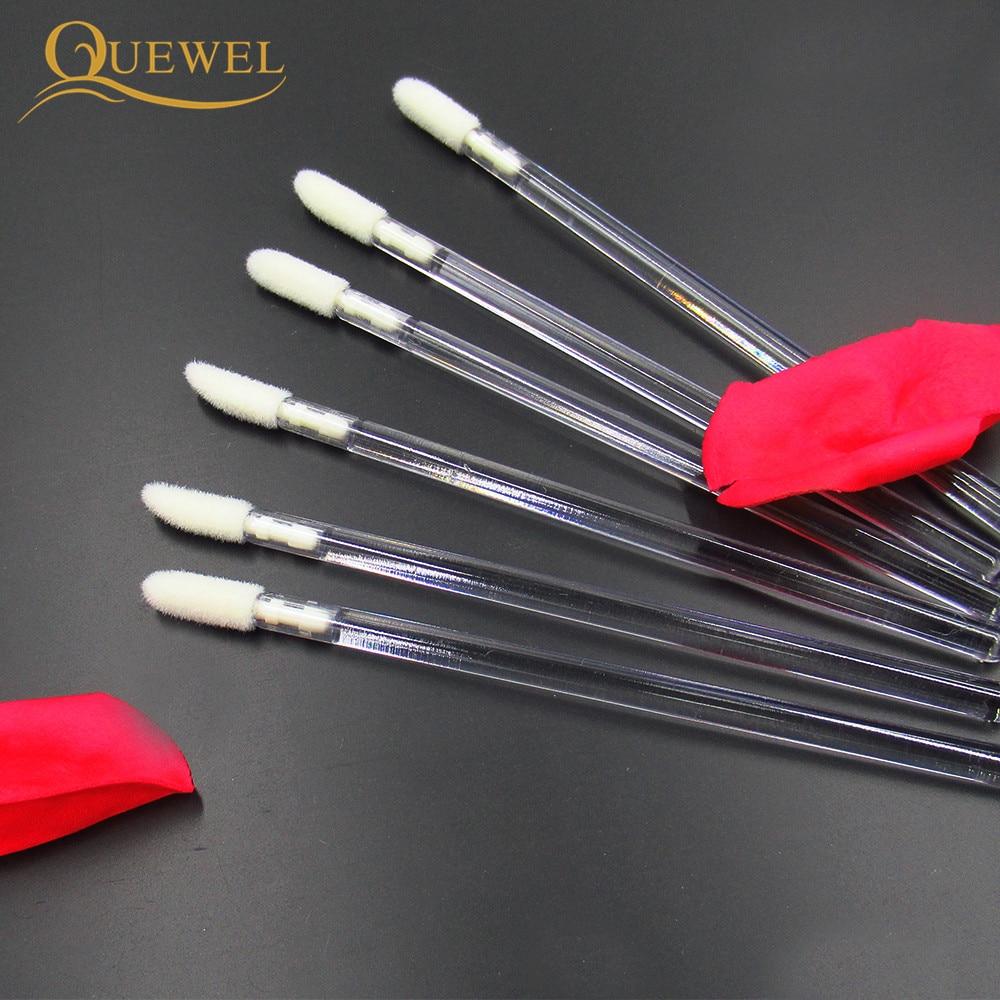 50pcs Make Up Brushes set Cotton Swab Mascara Wands Lip Brush Pen Cleaner Cleaning Eyelash Disposable Makeup Brush Applicators 3