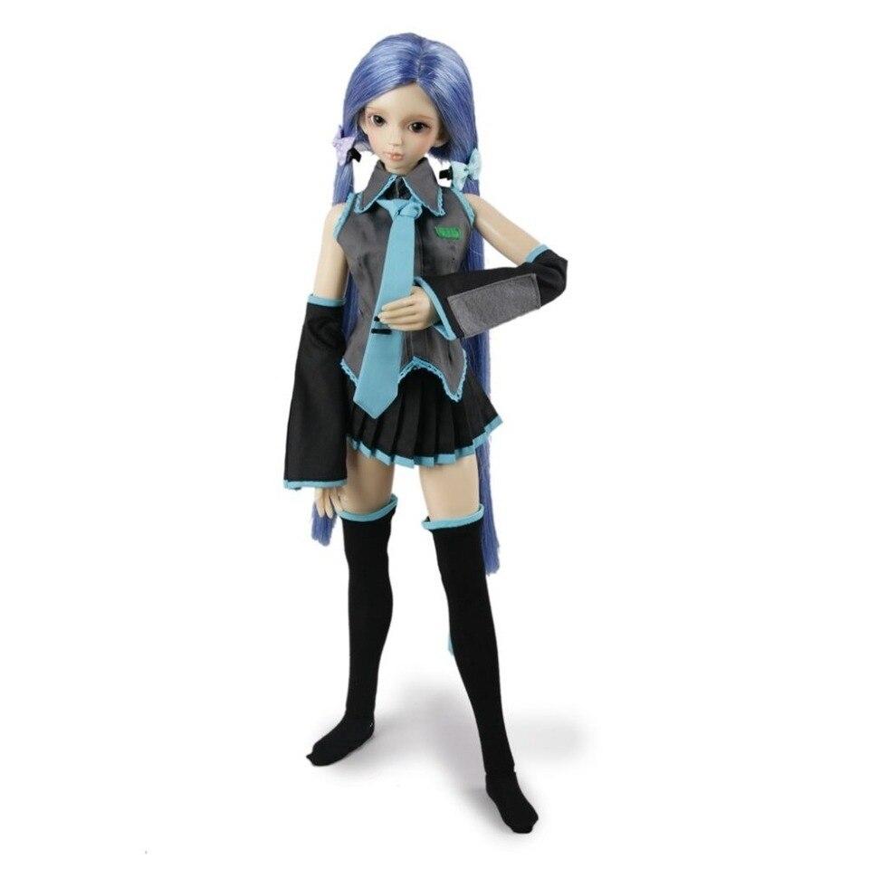 1//4 bjd mdd//msd doll clothes outfit school uniform dress navy dollfie minifee