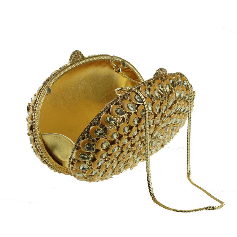 oval-shaped gold clutch bag7