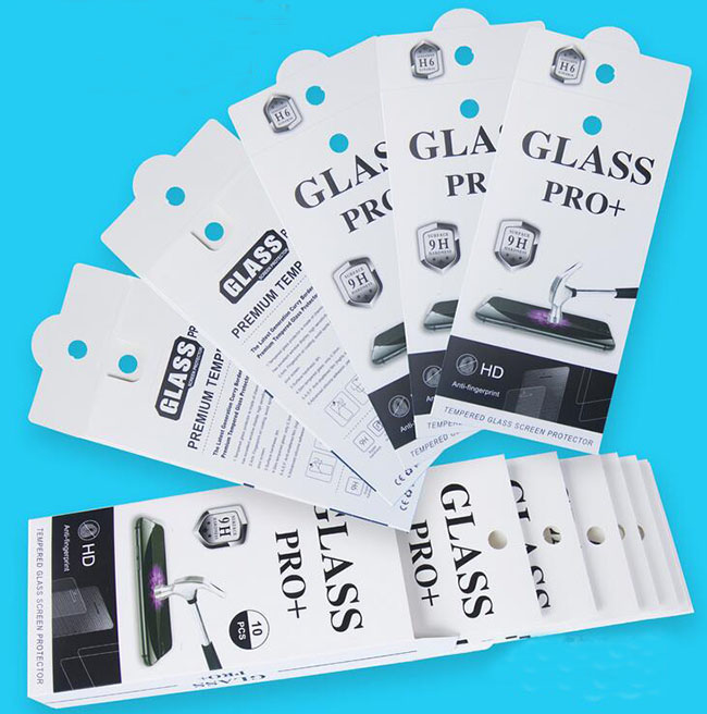 400pcs for iphone6 5s Galaxy S5 S4 Note Mobile Phone Premium Tempered Glass Film Guard Retail