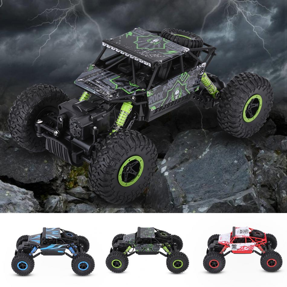 2.4GHz RC 1:18 Four-Wheel Drive Crawler Car RC Car Off Road Remote Control Toy Mini RC Models Vehicle Truck Toy For Boys super climbing remote control car model off road vehicle toy four wheel drive