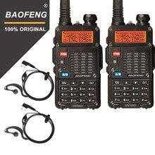 الأصلي 2 قطعة Baofeng UV 5RT لاسلكي للصيد UV 5RT عالية الطاقة جهاز الإرسال والاستقبال المتقدمة الهواة المزدوج الفرقة راديو محطة