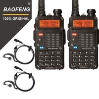 רדיו ווקי 2pcs מקורי Baofeng UV-5RT ווקי Talke לציד UV 5RT עוצמה גבוהה משדר מתקדם חובב Dual Band רדיו תחנת (1)
