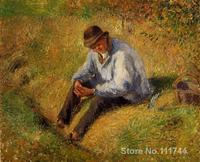 Pere Melon Resting Camille Pissarro Paintings modern art High quality Hand painted