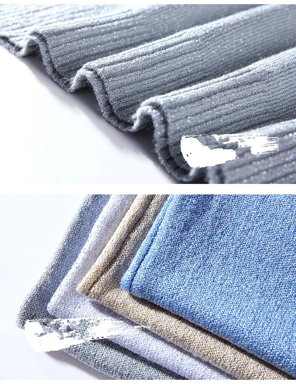 Slim Sexy V-neck Knit Shiner Base Shirt Gallus Waistcoat 27