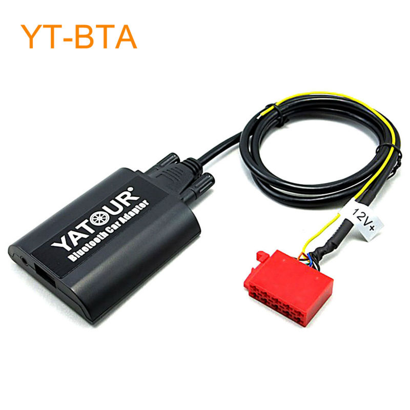 Yatour BTA Car Bluetooth Adapter Kit for Factory OEM Head Unit Radio for VW 1993-1998 Golf MK3 Jetta Passat B4 yatour car bluetooth adapter kit for factory oem head unit radio for audi for skoda for vw golf eos jetta passat touareg touran