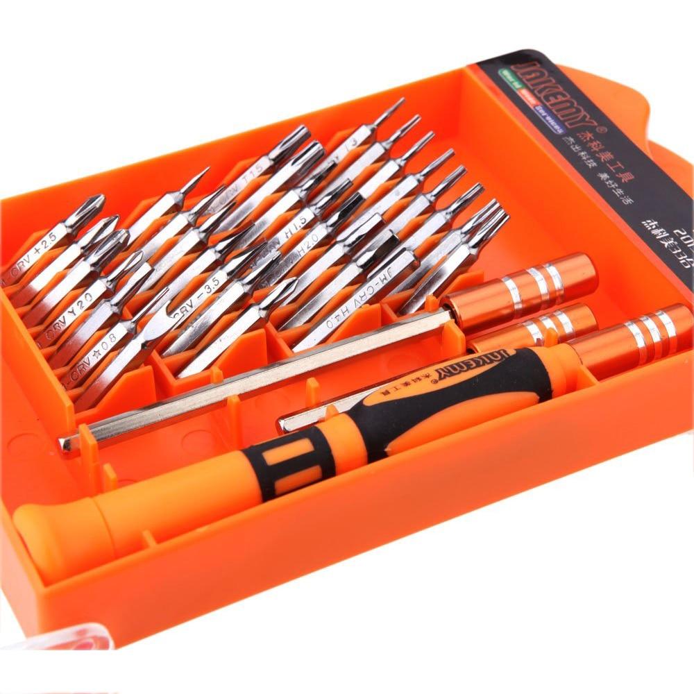 MYLB-Jakemy JM 8110 33 in 1 33 pcs Interchangeable magnetic Screwdriver Kit Repairing Tools Set