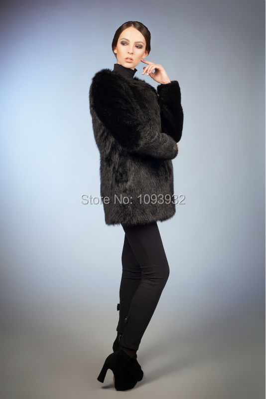 Aliexpress.com : Buy 2017 Winter Faux Fur Coat Women Faux Fur ...