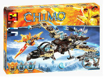 479pcs Out of print Chimaed Figures Building Blocks Vultrix's Sky Scavenger Battle Fighte Gift Kids Toys Compatible with Legoing(China)