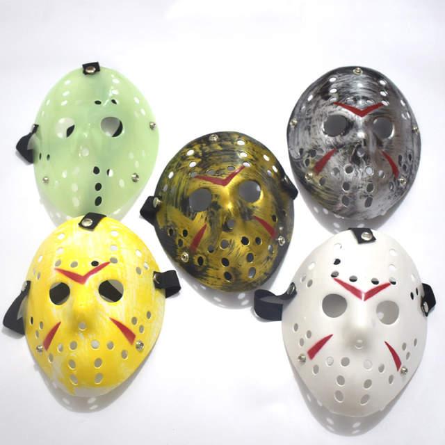 Halloween Jason Mask Cartoon.Us 8 47 20 Off Scary Prom Party Masks Halloween Decorative Gifts Cartoon Cosplay Performance Props Movie Terror Freddy Vs Jason Themed Masks In