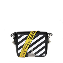 Luxury Handbag Leather Fashion Women s Clip Messenger Bag Black and White  Striped Messenger Bag Famous Designer 3043dff822a64