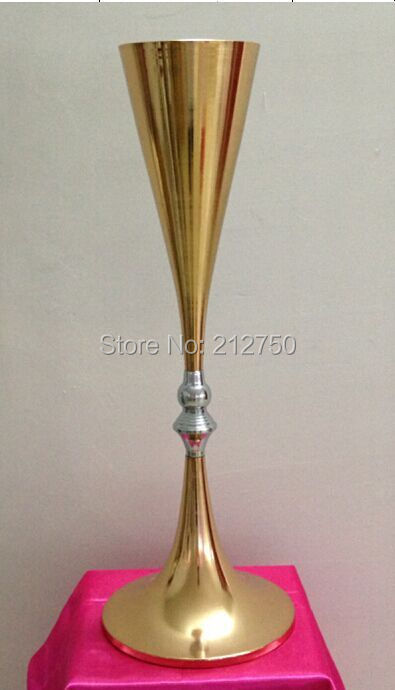 Popular gold centerpiece vases buy cheap