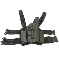 Tactical Holster Puttee Thigh Leg Right Handed Hunting Gun Holster With Light Bearing Fit for SIG SAUER P220 P226 P228 P229