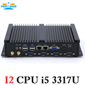 промышленный компьютер с usb 3.0 станции двойной гигабитный lan 4 rs232 hdmi автоматической загрузки intel celeron c1037u 1,8 ггц 2g баран 32g ssd