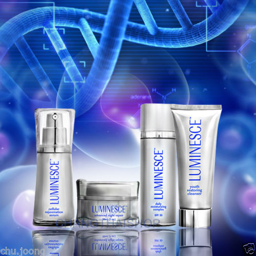 JEUNESSE LUMINESCE Set: 4 Cleanser, Serum, Daily Cream,Night Cream Made in USA new balance 990v2 made in the usa
