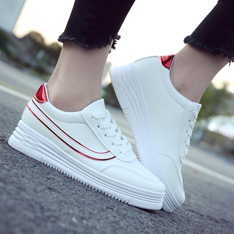 Hot sale Sports  white   round head casual white shoes    SUC-01-SUC-06Hot sale Sports  white   round head casual white shoes    SUC-01-SUC-06